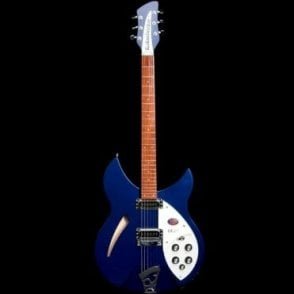 330/6 Semi-Hollow Electric Guitar, Midnight Blue, #17-29792