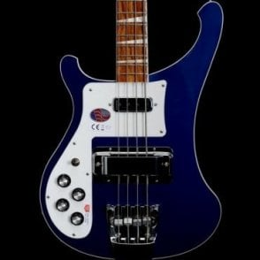 4003L Left-Handed Electric Bass Guitar, Midnight Blue