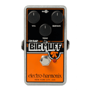 Op Amp Big Muff Pi Distortion/Sustainer