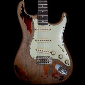 2005 Heavy Relic Rory Gallagher Stratocaster, 3-Tone Sunburst