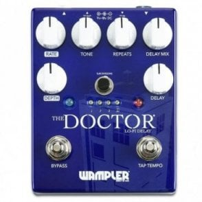 The Doctor Lo-Fi Delay Pedal