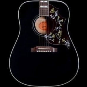 2014 Hummingbird Ebony Limited Edition Acoustic Guitar, Pre Owned