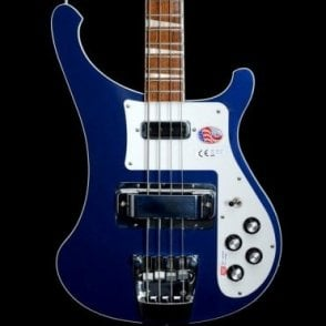 4003 Midnight Blue Electric Bass Guitar 2017 Model #17-32736