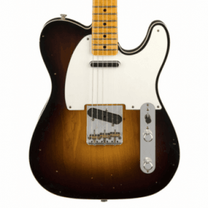 2018 Model Limited Edition Double Esquire Relic, Wide Fade 2-Colour Sunburst