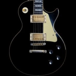 1978 Les Paul Deluxe, Black w/Cream Scratch Plate & Bare Knuckle Crawlers