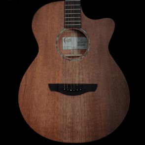 FKV Naked Venus All-Solid Mahogany Electro Acoustic Guitar 2018 with Fishman Preamp B-Stock