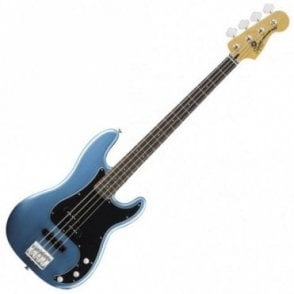 Squier by Fender Vintage Modified P-Bass PJ, Lake Placid Blue (Aintree Store)
