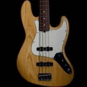 2006 60th Anniversary American Jazz Bass Guitar, Natural - Pre-Owned