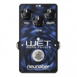 Wet V4 Mono Reverb Pedal, Ex Demo Stock
