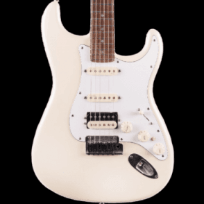 American Deluxe Stratocaster HSS, Olympic Pearl Finish w/ Push Switch