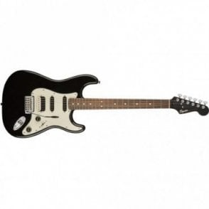 Squier Contemporary Stratocaster w/ Rosewood Neck - HSS (Black Metallic)