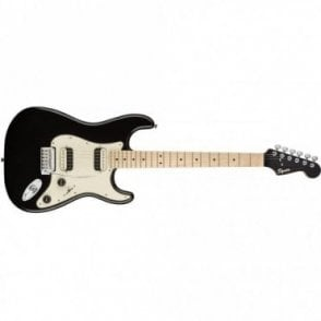 Squier Contemporary Stratocaster w/ Maple Neck - HH (Black Metallic)