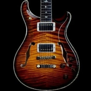 Private Stock Hollowbody II 594 Limited Edition, McCarty Glow Smoked Burst