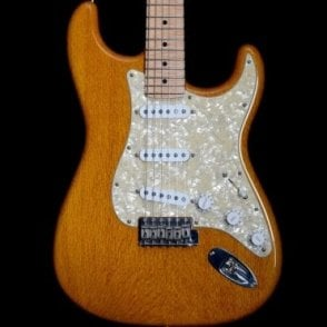 2003 Lacewood Stratocaster, Soft V Profile Flame Maple Neck in Honey Finish, Pre-Owned