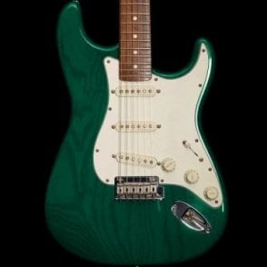 1998 Classic Player Stratocaster in Teal Green w/ Birdseye Maple Neck, Pre-Owned