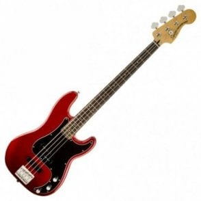 Squier Vintage Modified Precision Bass PJ, Candy Apple Red (Aintree Store)