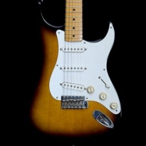 Made in Japan Stratocaster, 2-Tone Sunburst w/ Maple Neck, Pre-Owned