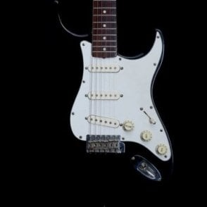 Made in Japan '62 Stratocaster, Maple Neck, Black Finish, Pre-Owned
