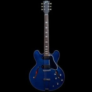 ES-330L Hollow body Electric Guitar, Beale Street Blue Finish