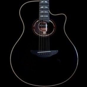 APX1200 Electro Acoustic Guitar, Black, Pre Owned