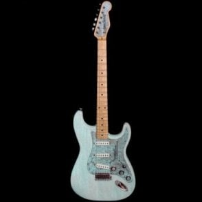 Steelguard-O-Matic Electric Guitar, Blue Paisley #18015