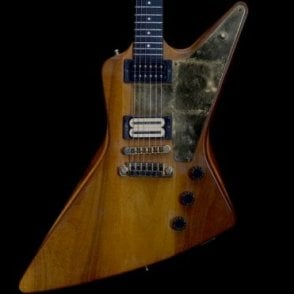 1979 Vintage Explorer E2 Electric Guitar, Natural Finish w/ DiMarzio X2N Humbucker