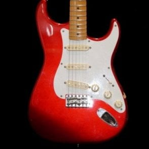Preowned Japanese 1987 Cherry Red Stratocaster