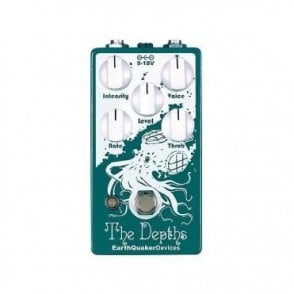 The Depths Optical Vibrato Pedal