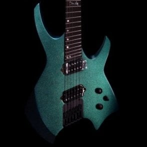 Goliath Multiscale 6 Electric Guitar Blue/Green Chameleon