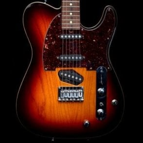 1998 Hollow T Classic Contoured Stereo Electric Guitar with Piezo, Desert Sunset