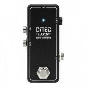 OMEC Teleport USB Audio Interface Pedal