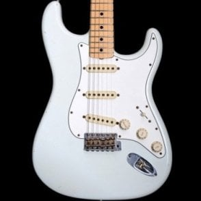 2012 Limited Edition 1969 Reissue Reverse Headstock Stratocaster in Olympic White, Pre-Owned