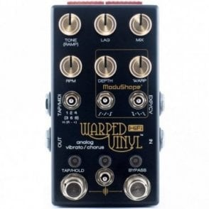 Warped Vinyl HiFi Guitar Effects Pedal