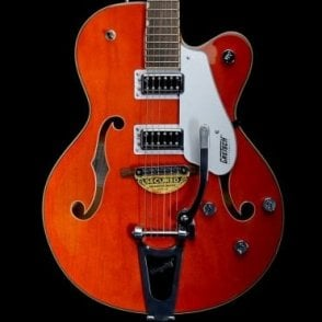 G5420T Semi-Hollowbody Electric Guitar, Orange Stain