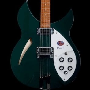 330/6 British Racing Green Limited Edition Guitar - Trapeze Tailpiece w/High Gain pickups