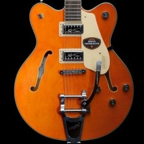G5622T Electromatic Hollowbody Electric Guitar, Vintage Orange