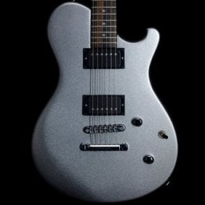 Nautilus Standard Electric Guitar in Silver Metallic w/ Bare Knuckle Ragnarok Pickups, Pre-Owned