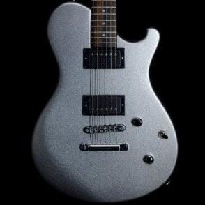 Nautilus Standard Electric Guitar w/ Bare Knuckle Ragnarok Pickups, Silver Metallic