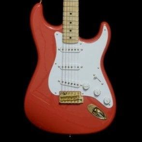 56 NOS Stratocaster, Fiesta Red w/ Gold Hardware