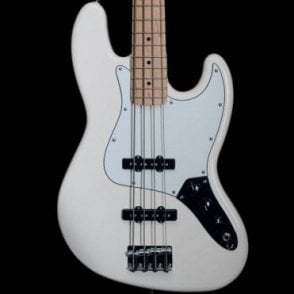 2015 Fender Mexican Standard Jazz Bass, Maple Neck Arctic White