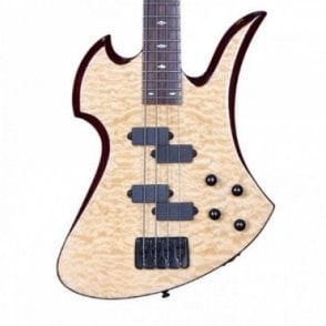 Mockingbird Mk3 Bass - Quilt Maple