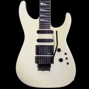 1989 USA Soloist FR Electric Guitar in Ivory White, Pre-Owned