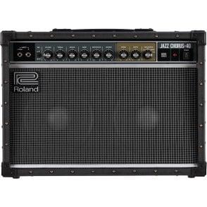 "JC-40 Jazz Chorus Guitar Amplifier 2x10"" Combo (Refurbished- Without Original Packaging)"