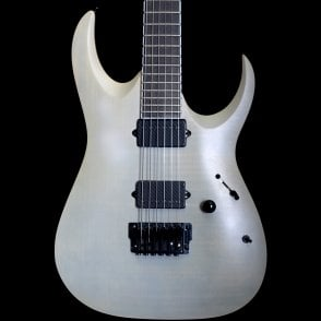 2017 RGAIX6FM-WFF Iron Label Electric Guitar in White Frost, Pre Owned