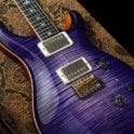 PRS Private Stock Custom 24 #5035 in Purple Glow Smoked Burst