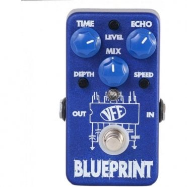 Blueprint Analog-Voiced Delay Pedal