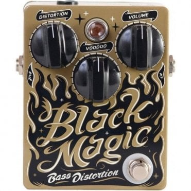Black Magic Bass Overdrive Pedal - Price Blowout