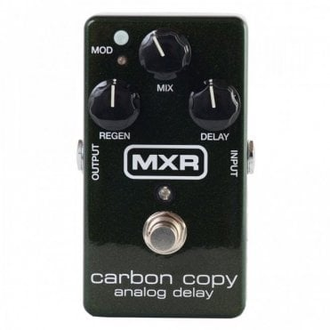 Carbon Copy Analog Delay M169 Effects Pedal
