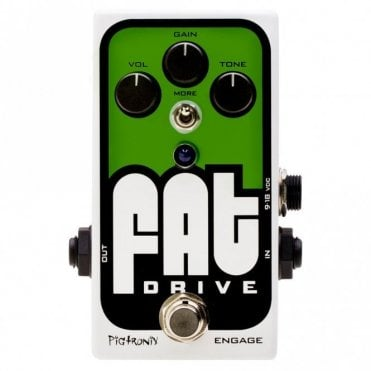 FAT Drive Overdrive Effects Pedal