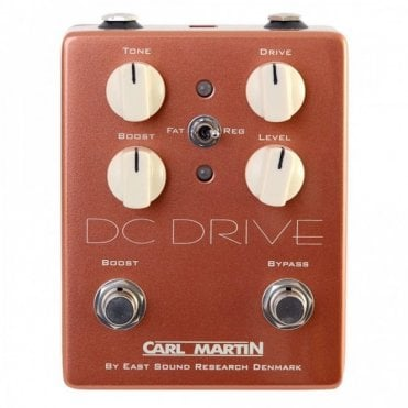 DC Drive - Vintage Series Overdrive Effects Pedal